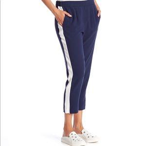 Wayf Side Stripe Ankle Track Pants - L